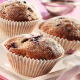 Schoko-Muffins mit Sauerkirschen