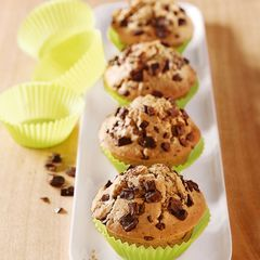 Kaffee-Muffins mit Mokkaschokolade