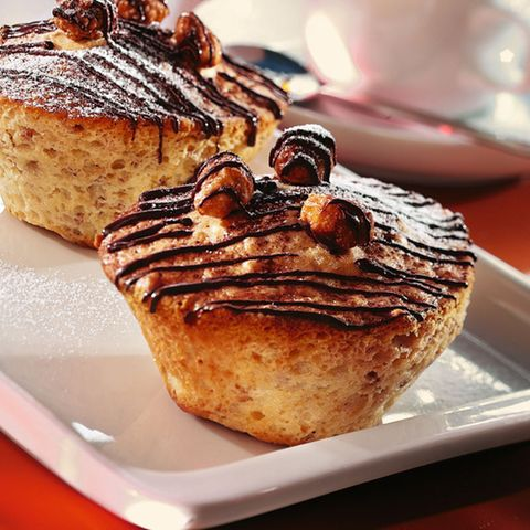 Preiselbeer-Nuss-Muffins
