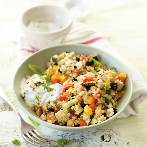 Vegetarische Hauptspeisen mit Couscous