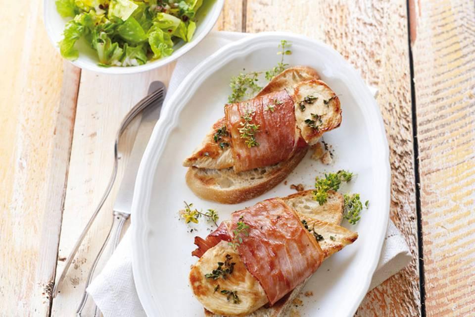 Hähnchen-Cordon-bleu mit Konfitüre Rezept