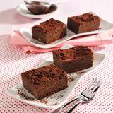 Üppiger Schokoladenkuchen