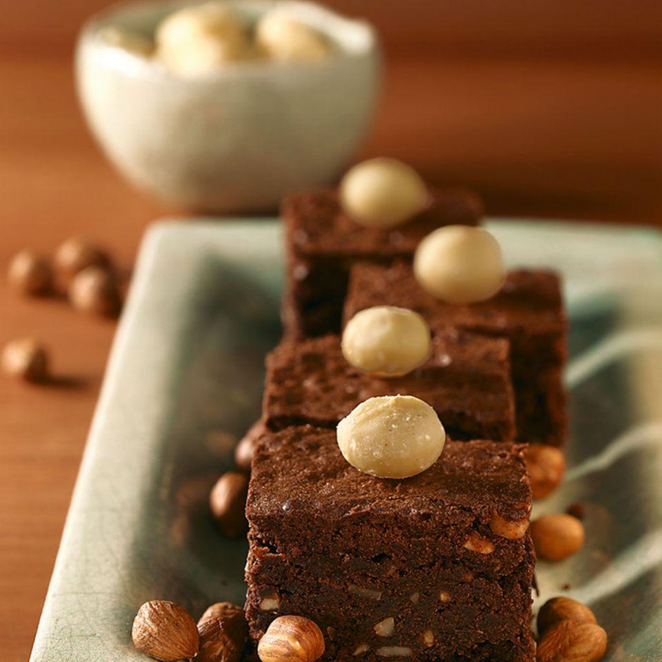 Brownies mit Macadamianüssen
