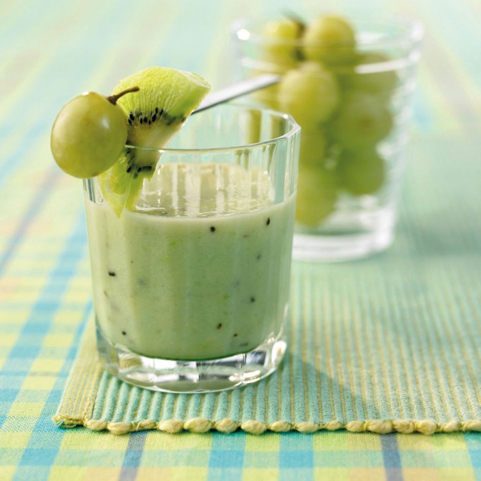 Weintrauben-Kiwi-Smoothie