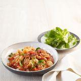 Tomaten-Bohnen-Pasta