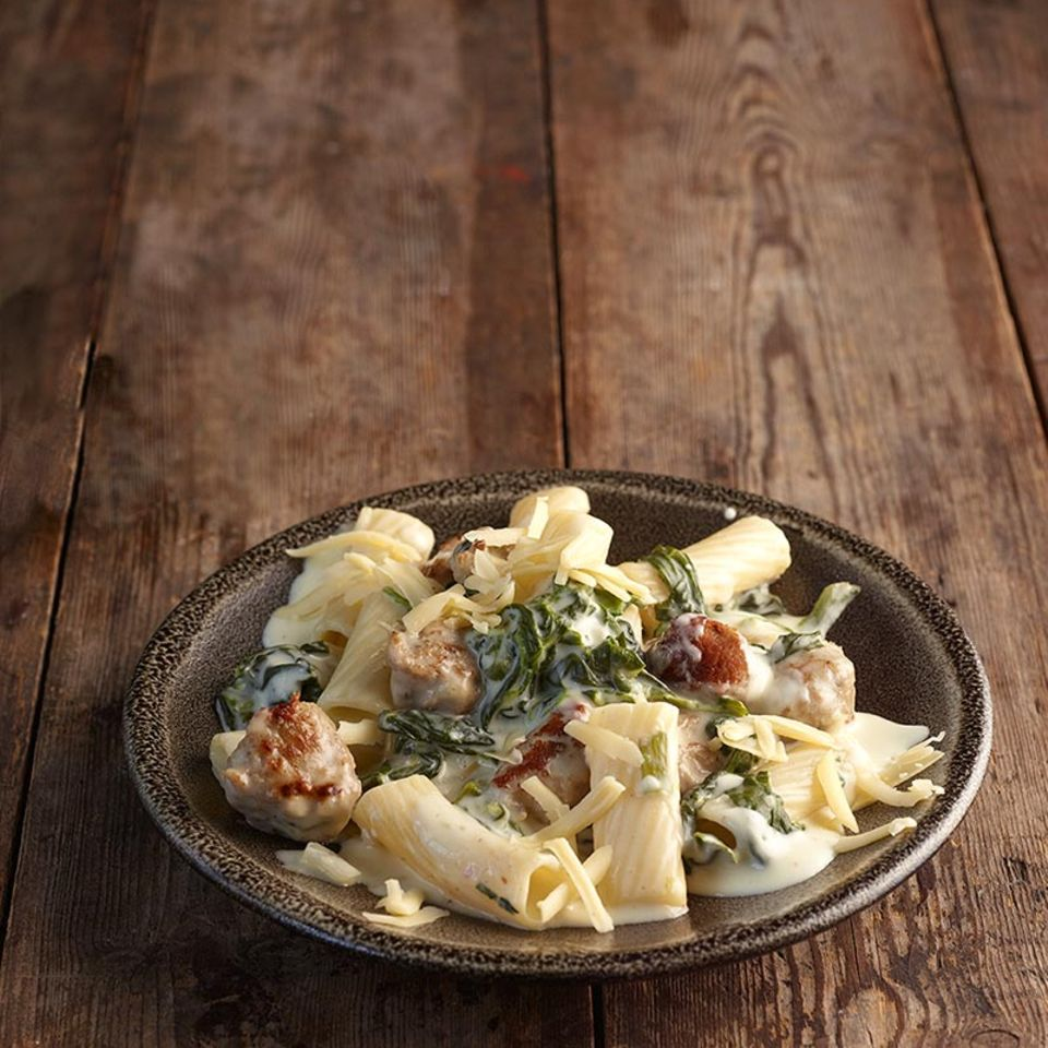 Käse-Tortiglioni