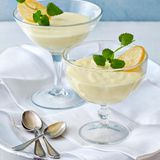 Zitronen-Quark-Mousse