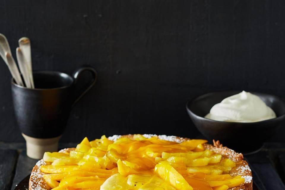 Mandel-Exoten-Kuchen Rezept