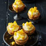 Exotische Früchte und Ingwer machen die Cupcakes herrlich fruchtig und würzig zugleich.