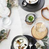 Graukas-Suppe mit Brezen-Krusteln