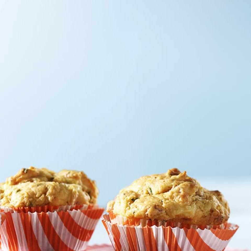 Käse-Schinken-Muffins