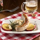 Apfel-Bohnen-Bratwurst