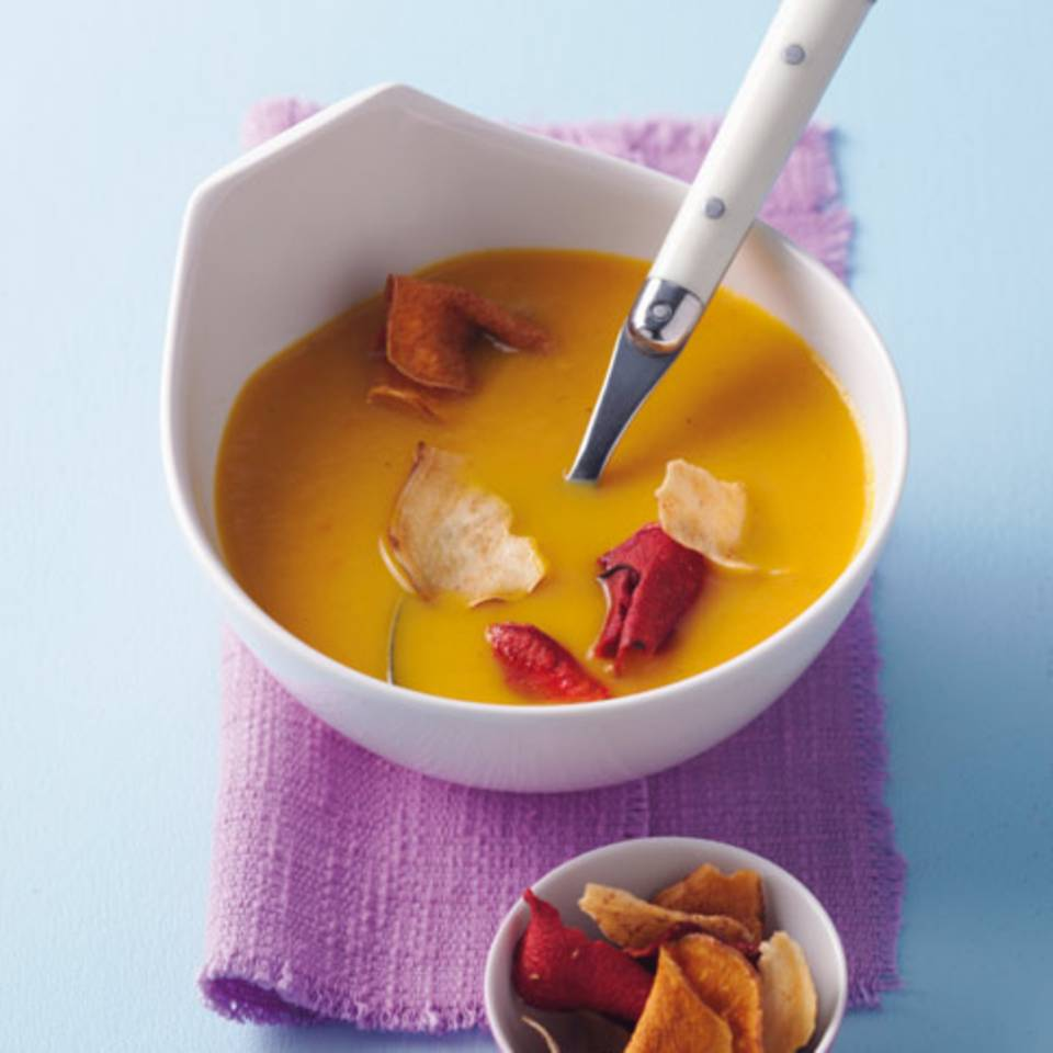 Möhren-Mango-Suppe Rezept