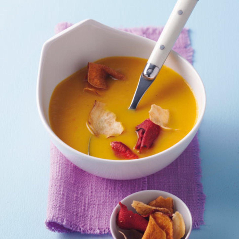 Möhren-Mango-Suppe