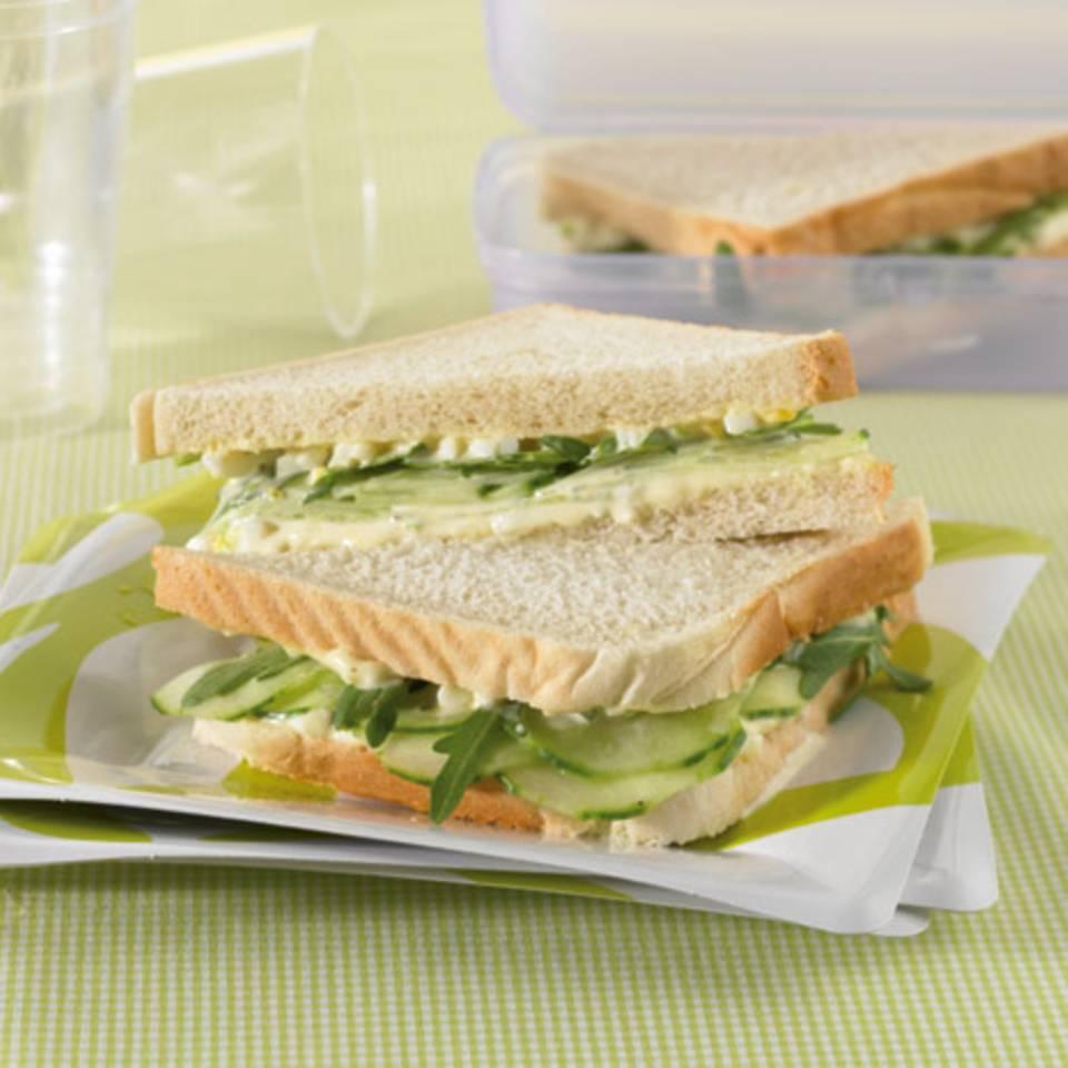 Gurken-Sandwich Rezept