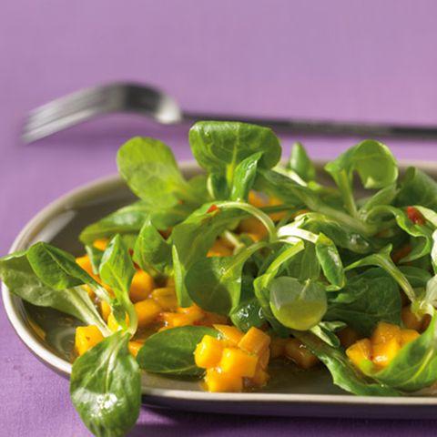Feldsalat mit Mango