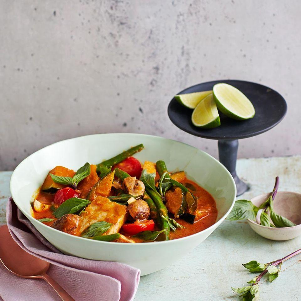 Rotes Panang-Curry