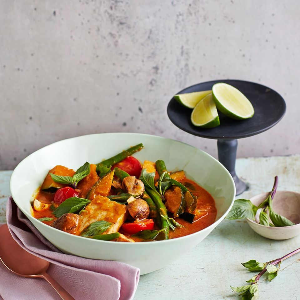 Rotes Panang-Curry