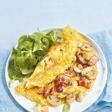 Speck-Pilz-Omelett