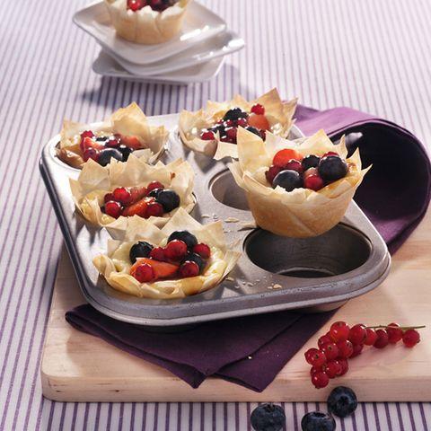 Mini-Cheesecakes im Filoteignest