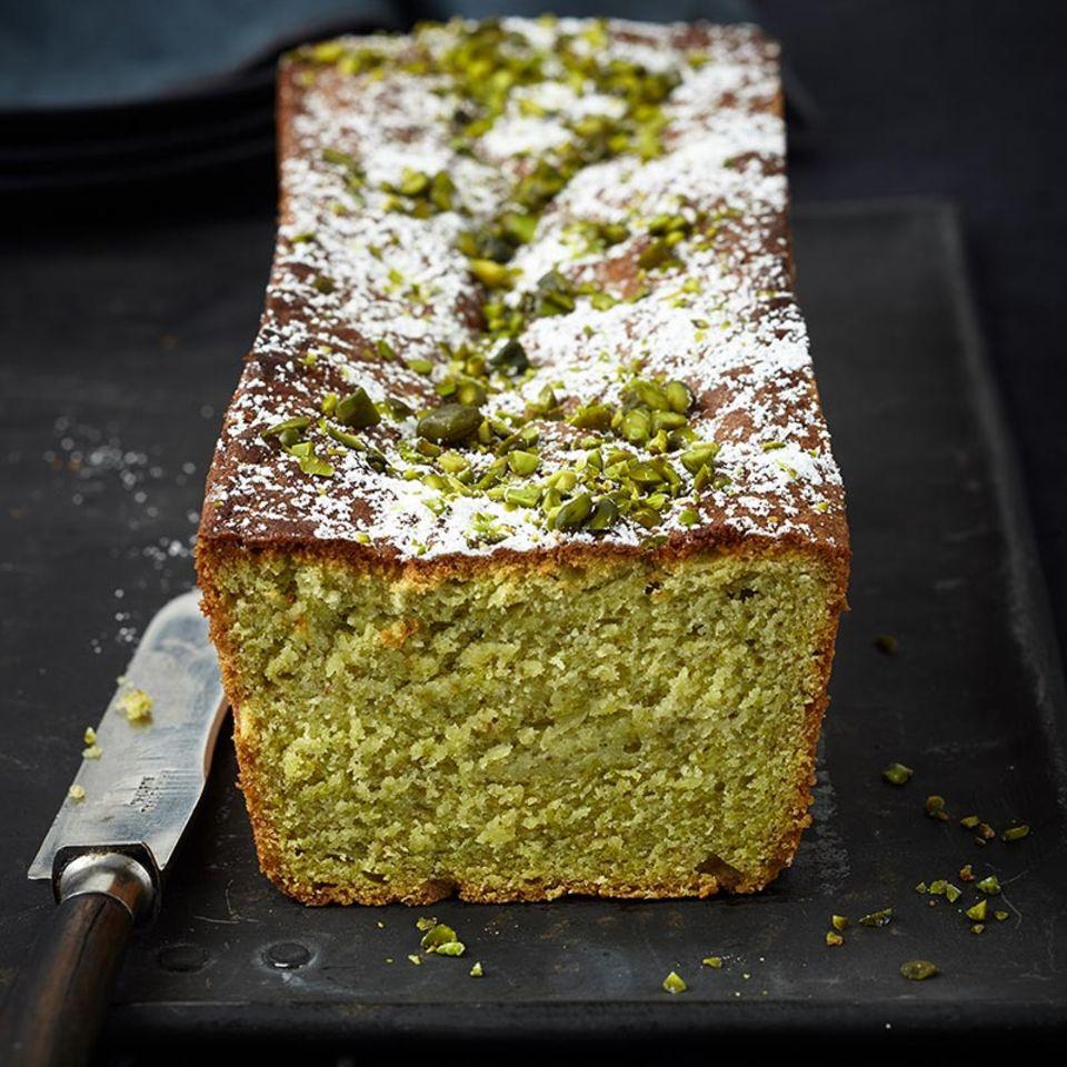 Avocado-Pistazien-Kuchen