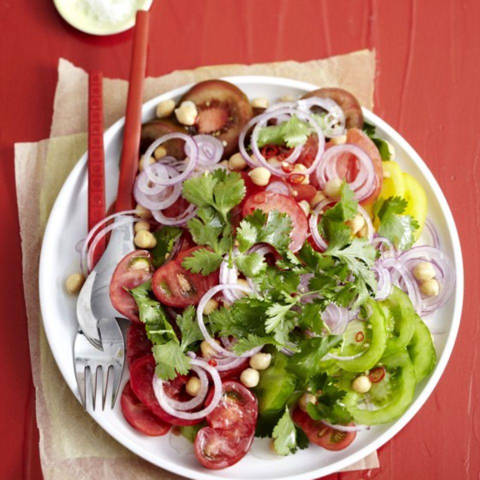 Tomatensalat: Rezepte und Tipps