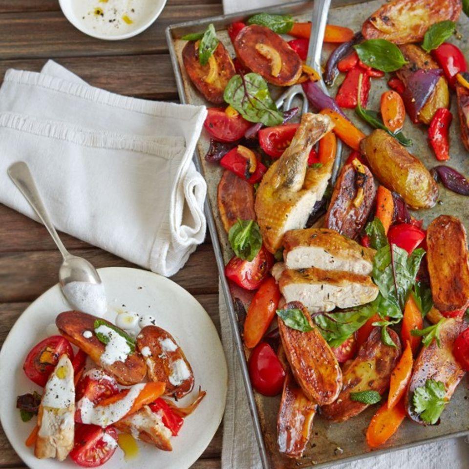 Paprika: Rezepte mit Fisch und Fleisch