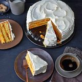 Orangen-Aprikosen-Torte
