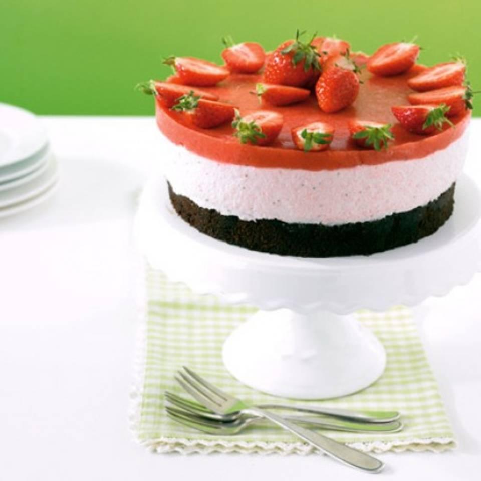 Espresso-Erdbeer-Torte Rezept
