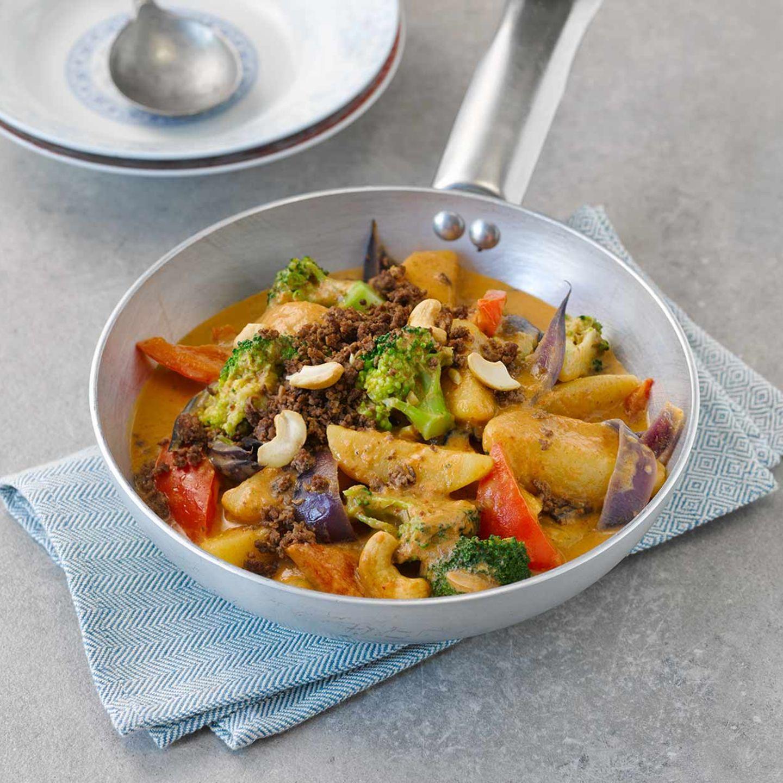 Gemüse-Curry mit Hack