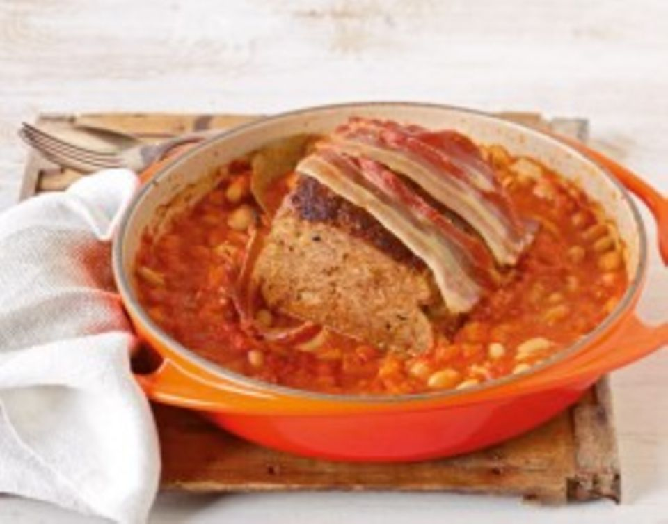 Fleisch & Fisch mit Tomaten