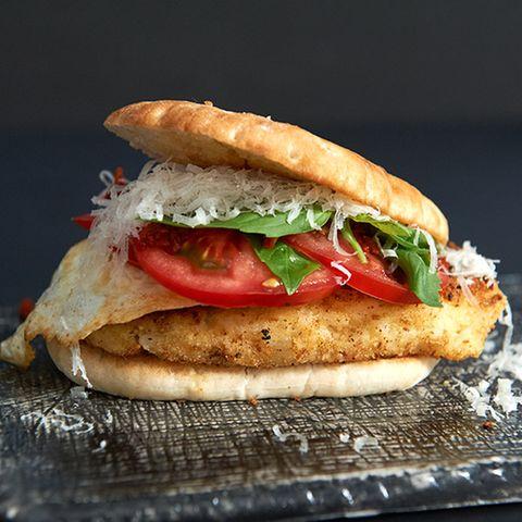 Risotto-Burger