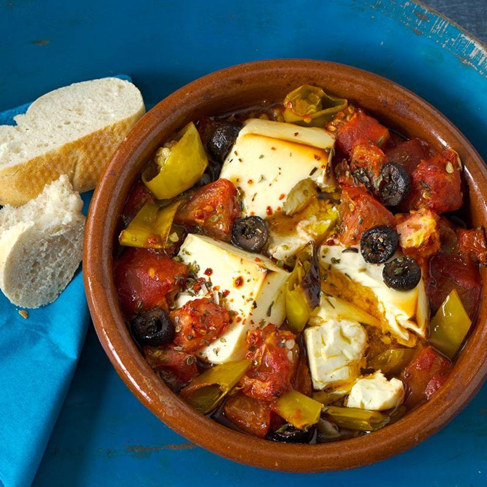 Feta-Tomaten-Auflauf