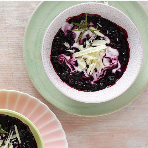 Heidelbeer-Rosmarin-Joghurt