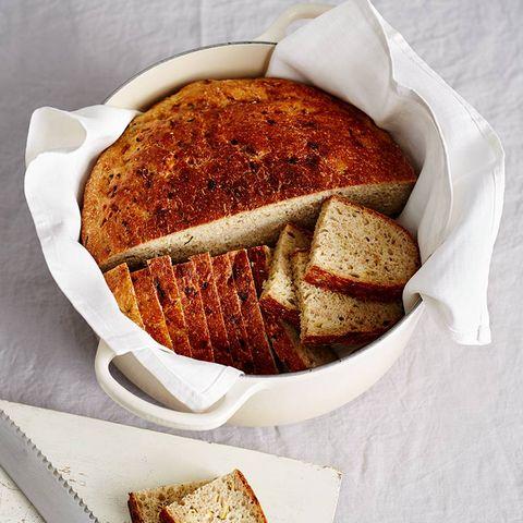 Zucchini-Kartoffel-Brot
