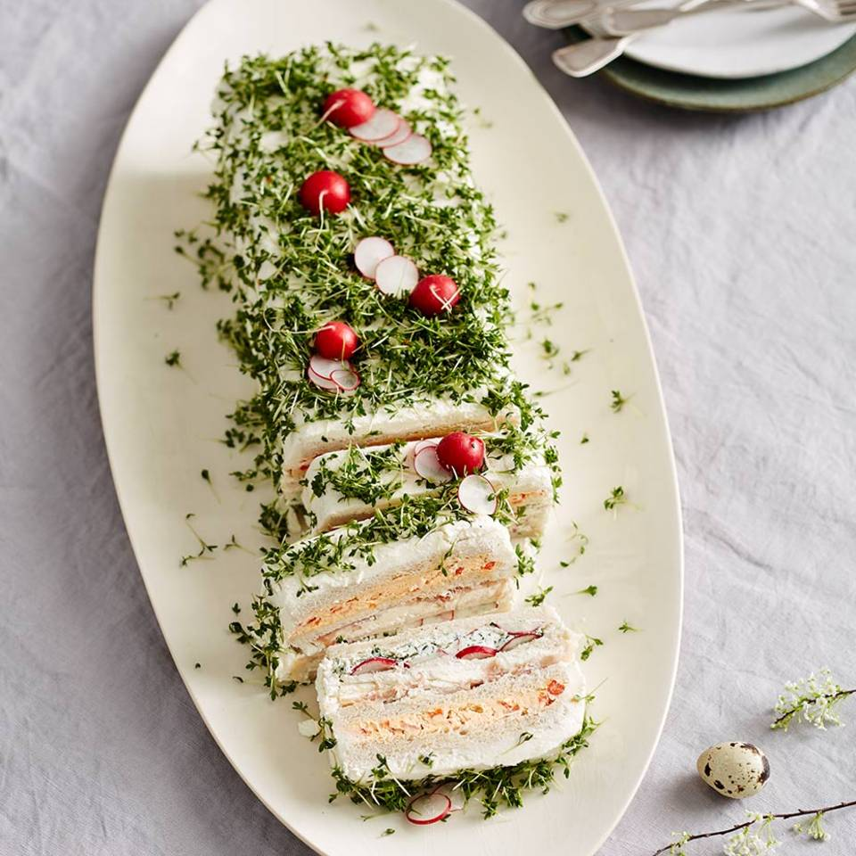 Sandwich-Frischkäse-Kuchen Rezept