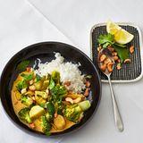 Brokkoli-Lauch-Curry