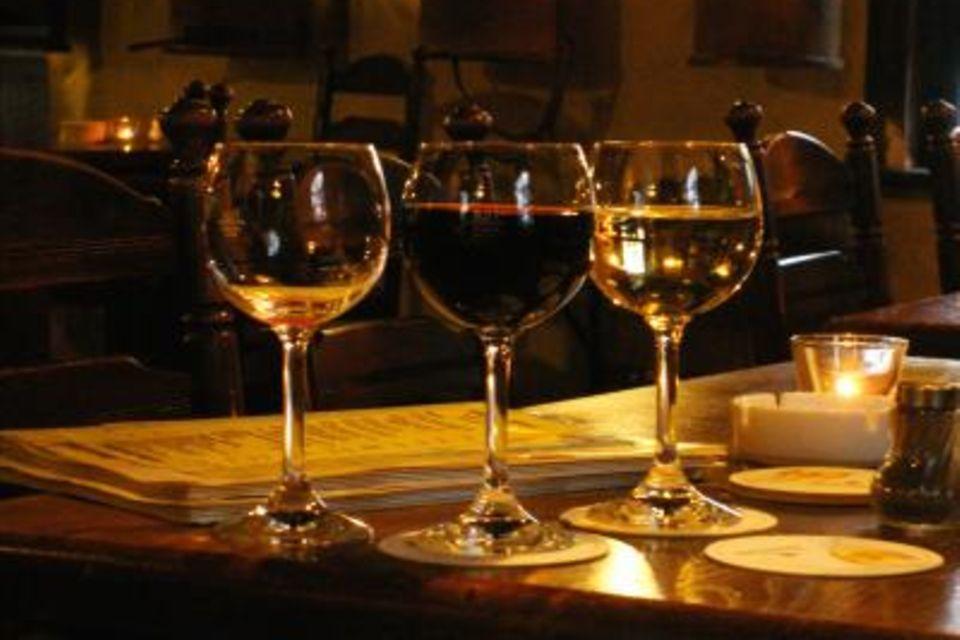 Heurigen Wein