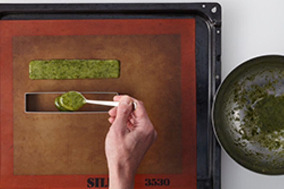 Zubereitung Matcha-Cracker