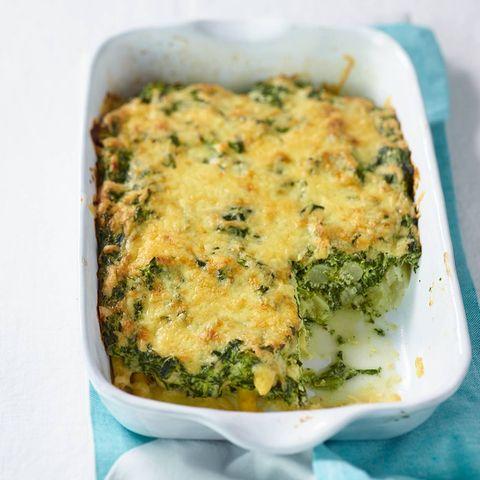 Spargel-Ricotta-Lasagne