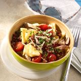 Brathähnchen-Linsen-Salat