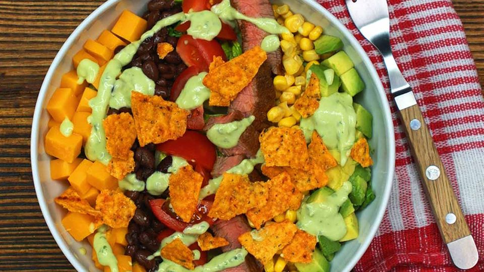 Salat Mexican Style