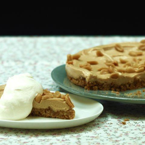 Erdnussbutter-Torte ohne Backen