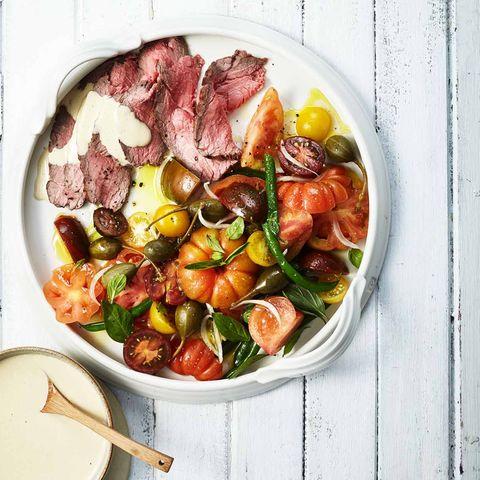 Vitello-Tomaten-Salat mit Kalbstafelspitz