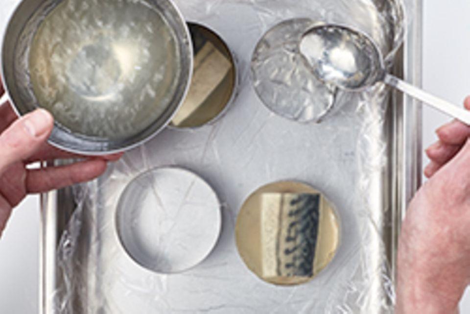 Spargel-Makrelen-Sülze - Schritt 5