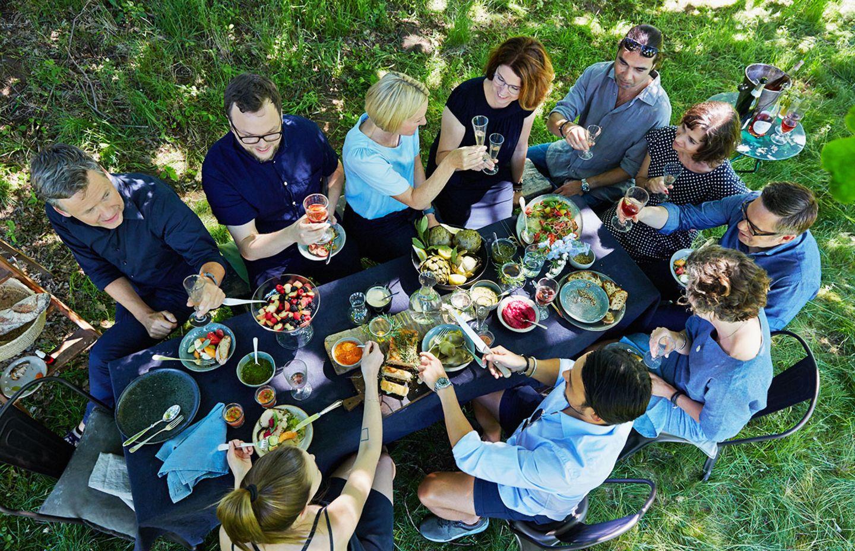 Gartenfest, Sommerfest, essen&trinken Redaktion feiert Jubiläum