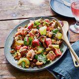 Tomaten-Pilz-Salat