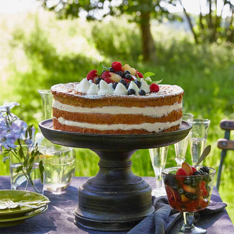 Geburtstagstorte Sommerfest