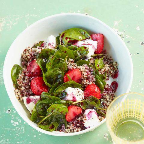Quinoa-Spinat-Salat