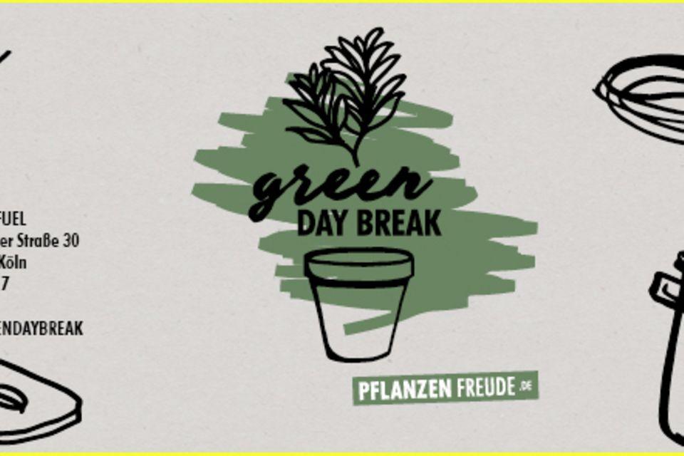 pflanzenfreude.de, Green Day Break, Green Cooking